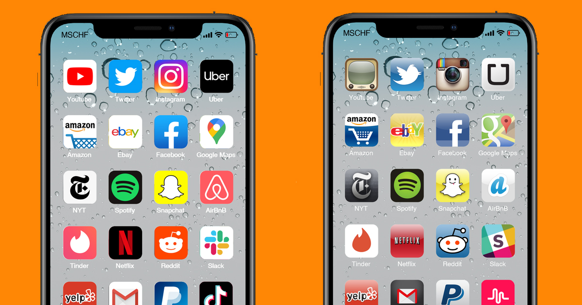 You Can Now Get Retro Iphone App Icons And You Ll Want Them All Right Now Creative Bloq