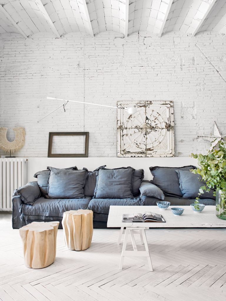 Explore this open-plan Barcelona apartment that's a Scandi-inspired urban oasis