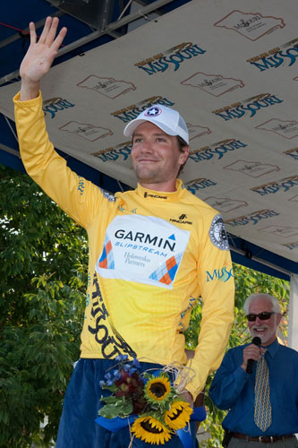 David Zabriskie, Tour of Missouri 2009, stage 5 tt