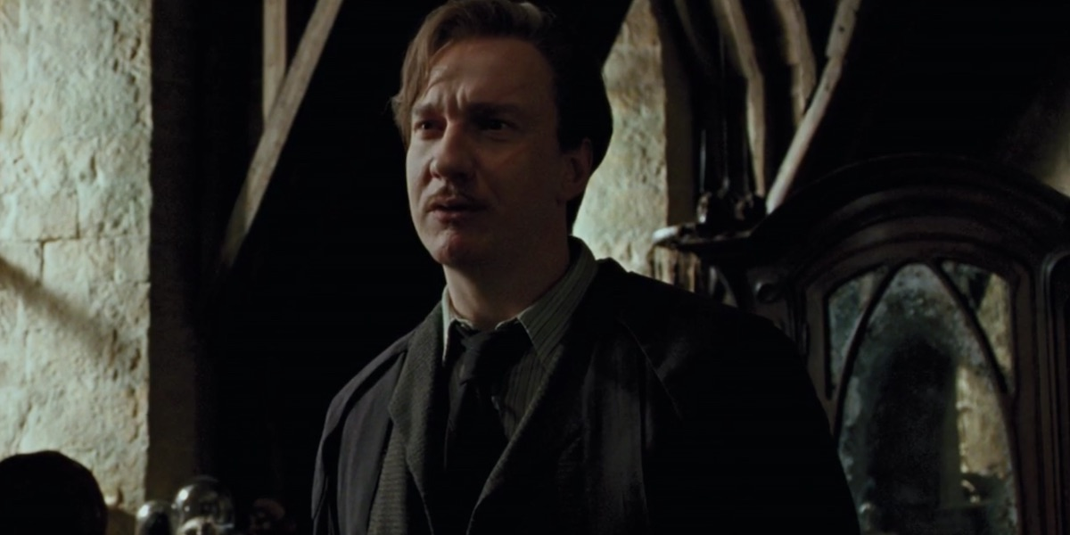 David Thewlis in Harry Potter 3