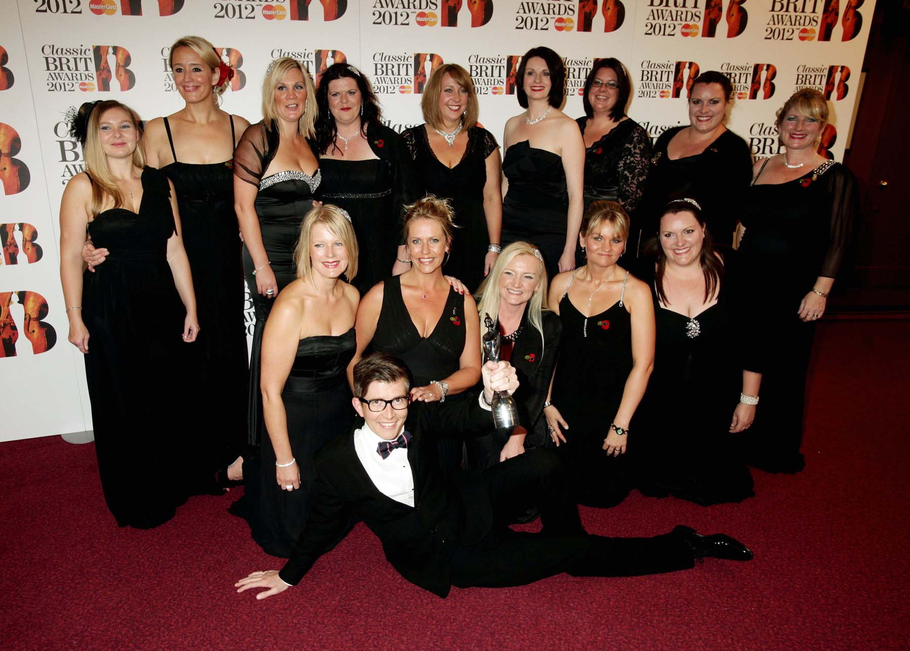 Military Wives win Classical Brit award