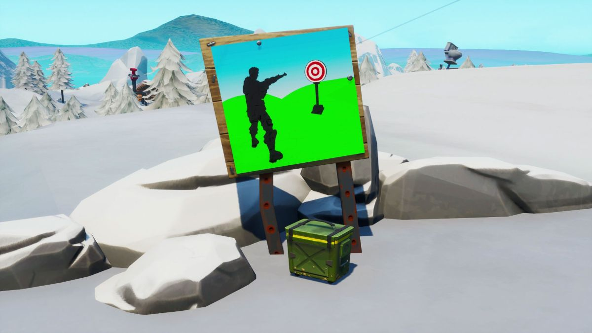 Fortnite Firing Range locations: Where to hit the easy and ...
