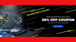 Waves is spreading the Valentine's Day love with 30% off (almost) all plugins and bundles