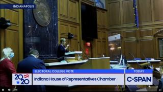 C-SPAN Electoral College tracking Indiana