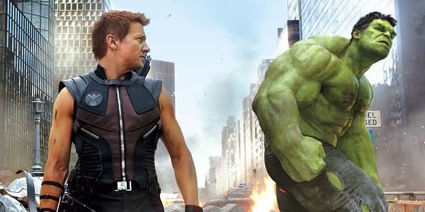 Marvel Hulk Hawkeye