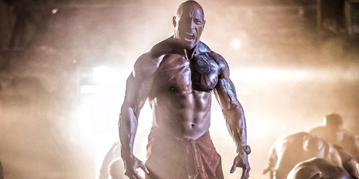 How much Dwayne Johnson eats during cheat meals