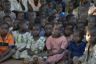 Children in a Malawi orphanage.