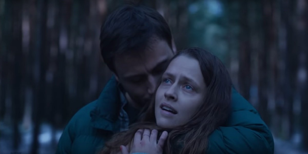 Teresa Palmer and Max Riemelt in Berlin Syndrome
