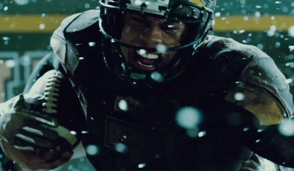Justice League Victor Stone On The Football Field