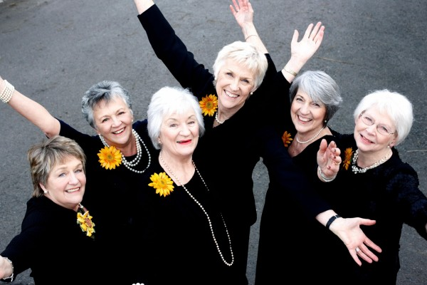 The original Calendar Girls (John Swannel)