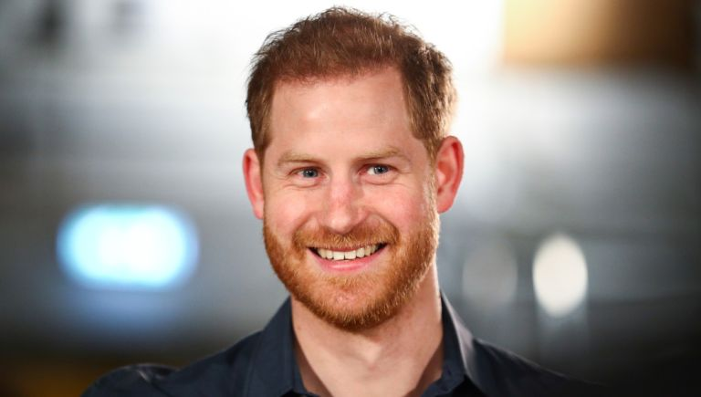 Prince Harry, Duke of Sussex speaks with members of the Invictus Games Choir at Abbey Road Studios, where a single has been recorded for the Invictus Games Foundation on February 28, 2020 in London, England.
