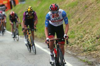 Tirreno Adriatico 2021 - 56th Edition - 5th stage Castellalto - Castelfidardo 205 km - 14/03/2021 - Tadej Pogacar (SLO - UAE Team Emirates) - Wout Van Aert (BEL - Jumbo - Visma) - photo Luca Bettini/BettiniPhoto©2021