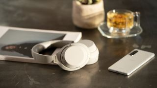 best noise-cancelling headphones: sony wh-1000xm4
