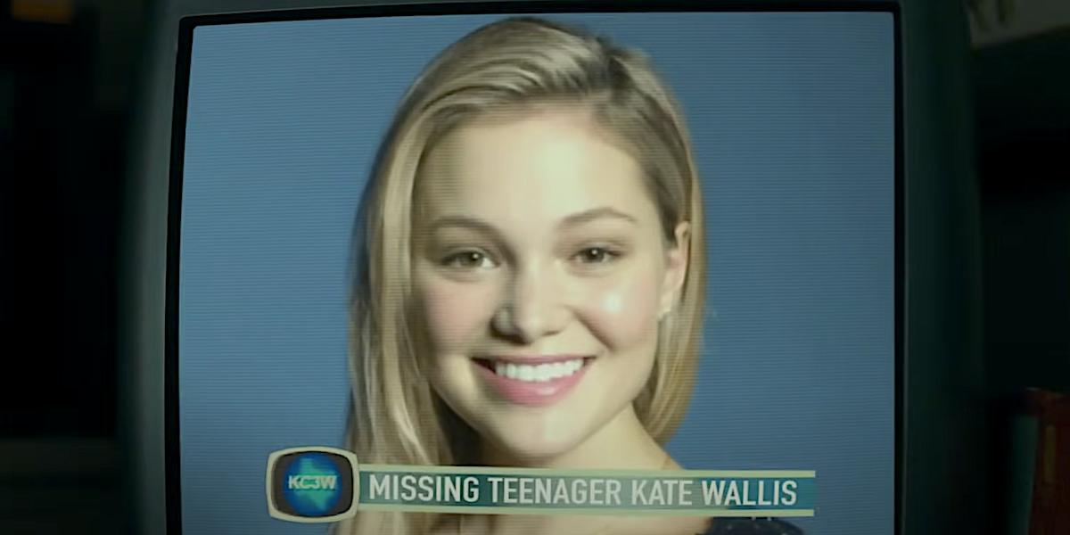 Olivia Holt as Kate Wallis