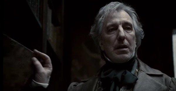 Alan Rickman in Sweeney Todd
