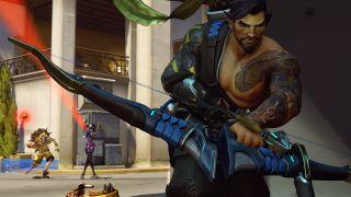 Blizzard Overwatch Heroes Characters Hanzo Junkrat Widowmaker Capture
