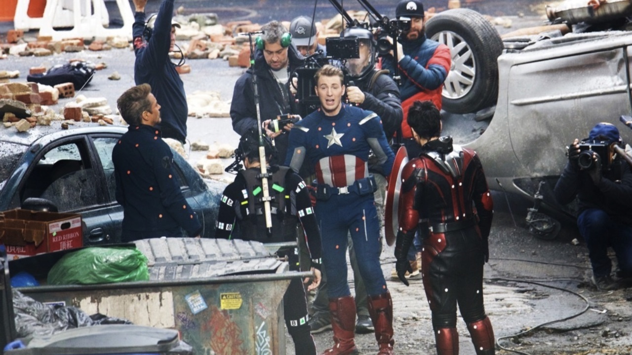 Avengers 4 Set Pic May Reveal Something About Avengers Infinity War