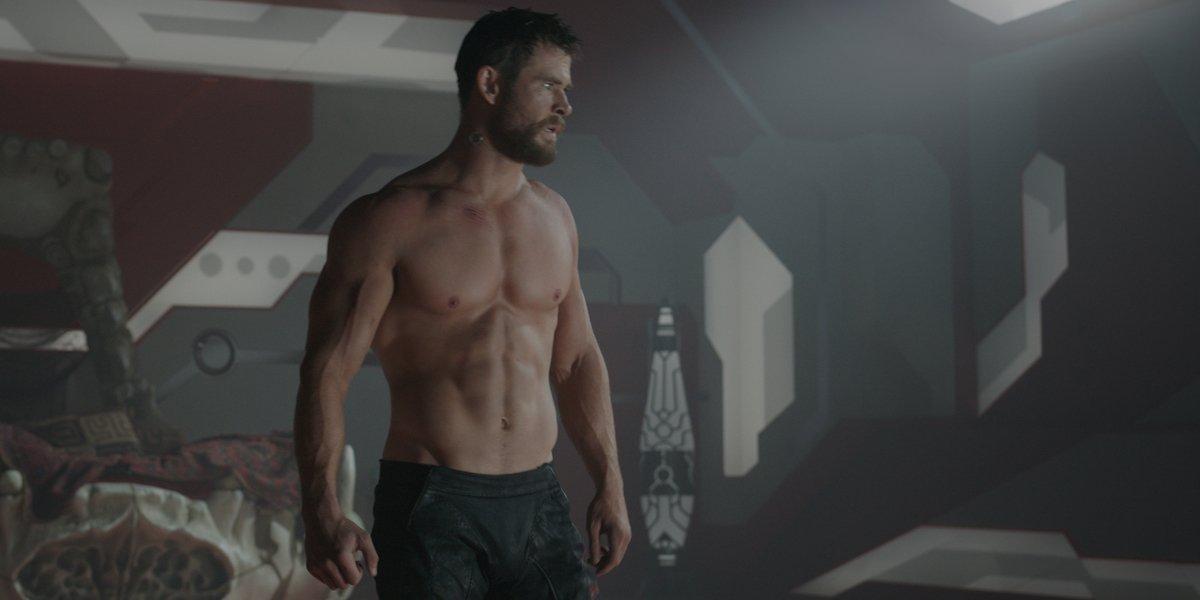 Chris Hemsworth in Thor: Ragnorok