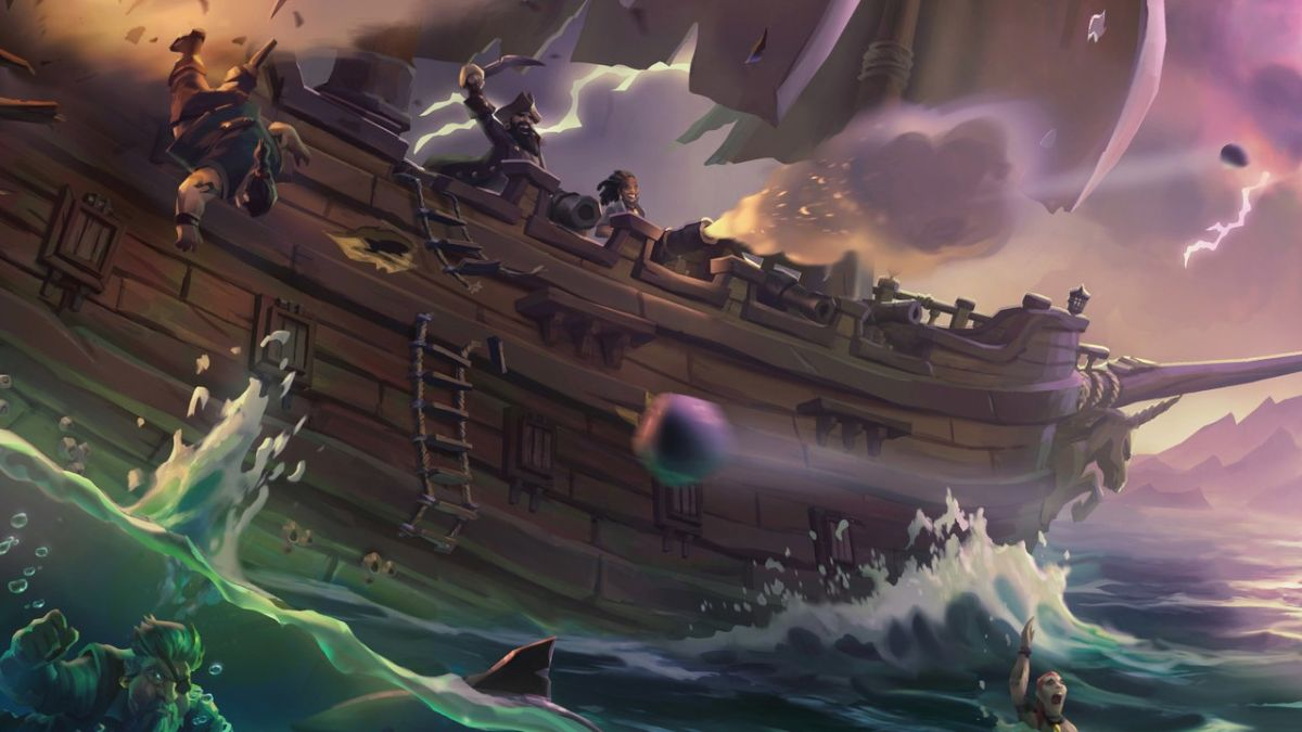 Fire is coming to Sea of Thieves, but we weren't supposed to know that yet