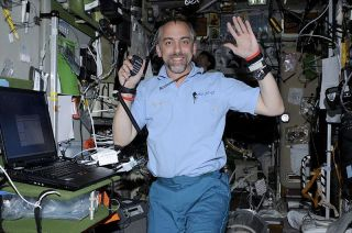 Richard Garriott, seen here during his self-financed trip to the International Space Station in 2008, is set to dive to the lowest point on Earth, Challenger Deep in the Mariana Trench, on March 1, 2021.