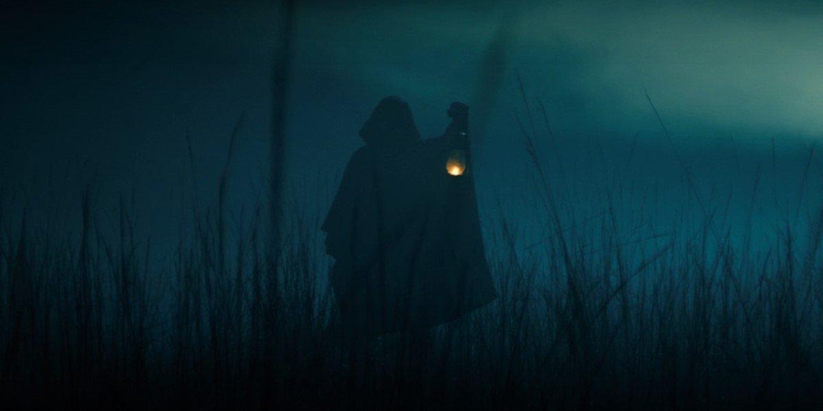 hooded loki variant with lantern in loki series premiere