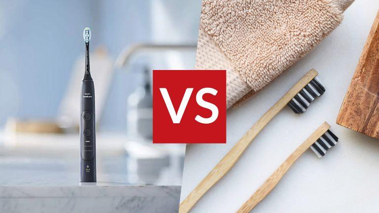 Electric toothbrush vs manual brushing
