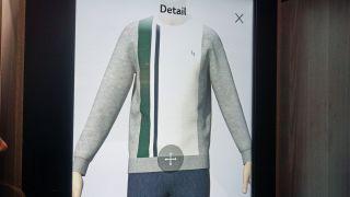 Un exemple de la façon dont les vêtements apparaissent sur l'avatar