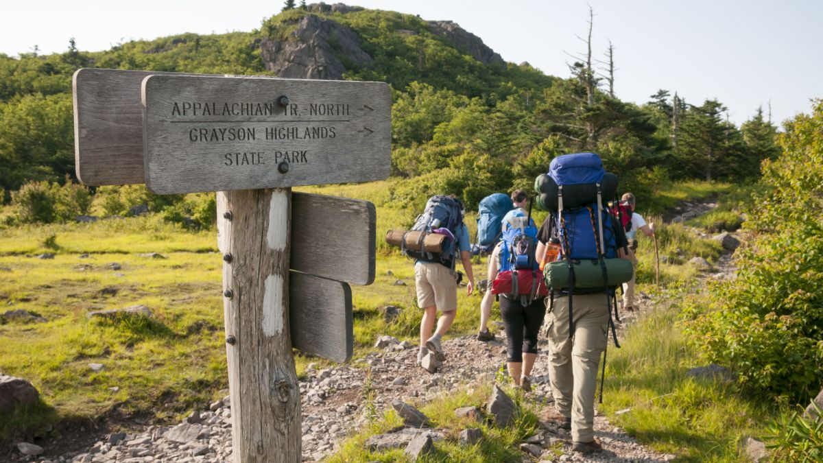 Section of the Appalachian Trail rerouted for a scenic upgrade