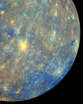 Huge Impact Crater Discovered on Planet Mercury