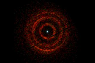 X-ray light from black hole