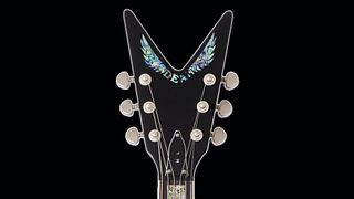 Dean electric guitar headstock