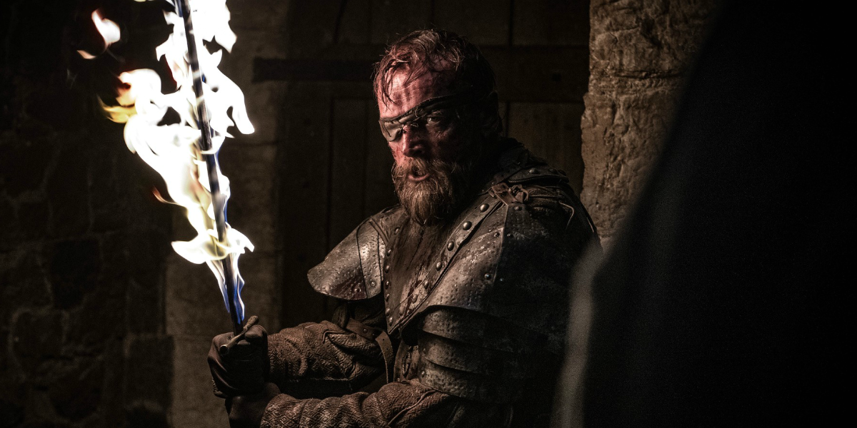 Game of Thrones Richard Dormer Beric Dondarrion HBO