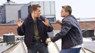The Departed Matt Damon Leonardo DiCaprio