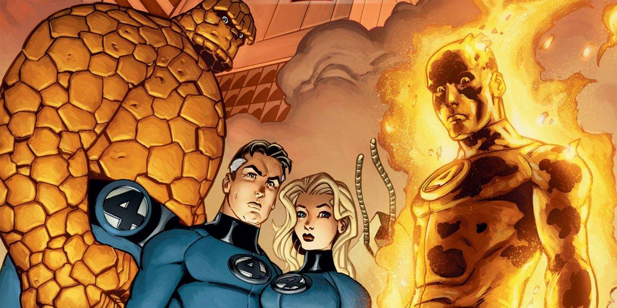 Fantastic Four by Waid Weiringo cover