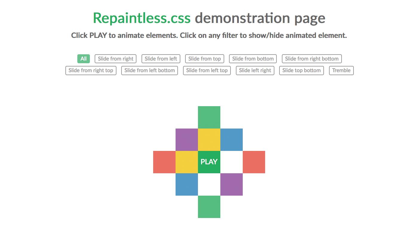 Replainless.CSS