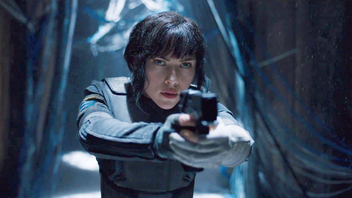 Ghost In The Shell Review A Visually Stunning Sci Fi World That Demands To Be Seen On The Big Screen Gamesradar