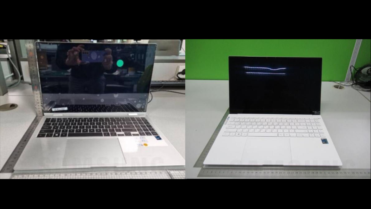 Samsung Galaxy Book Pro and Galaxy Book Pro 360: leaked images