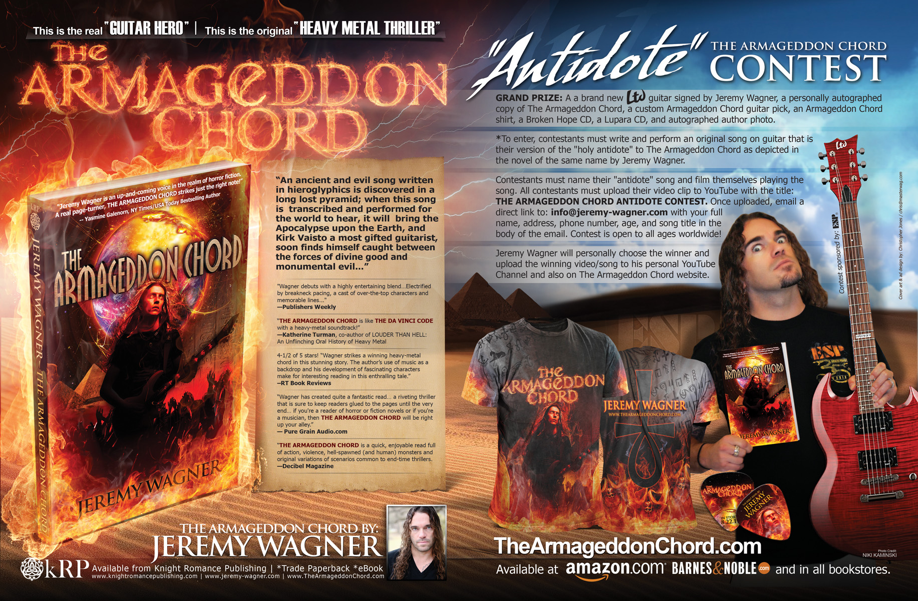 Winner Of The Armageddon Chord Contest Announced Guitarworld
