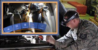 Unity USAF training image