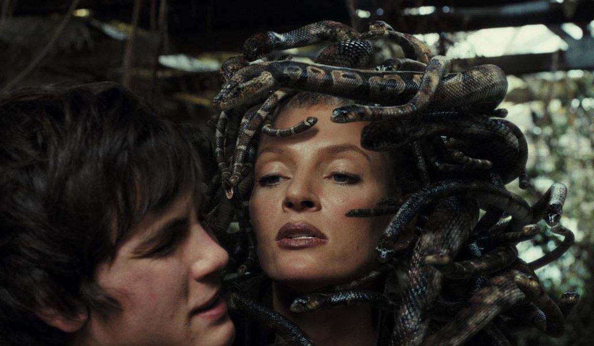 Uma Thurman as Medusa in Percy Jackson Lightning Thief