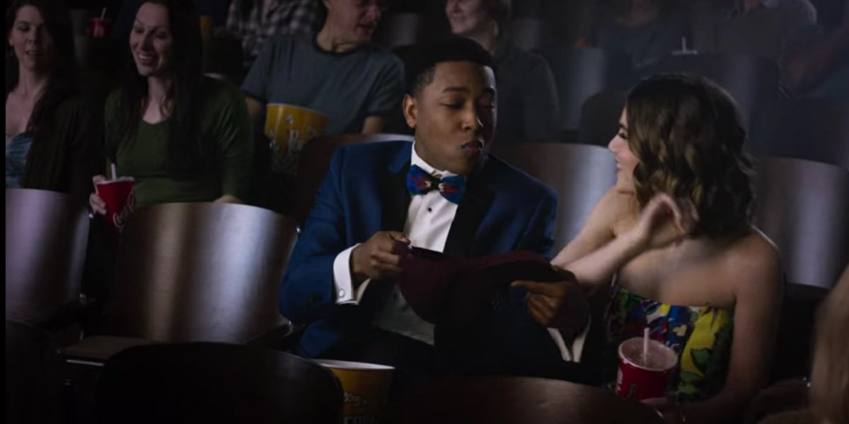Sami Gayle and Jacob Latimore in Candy Jar