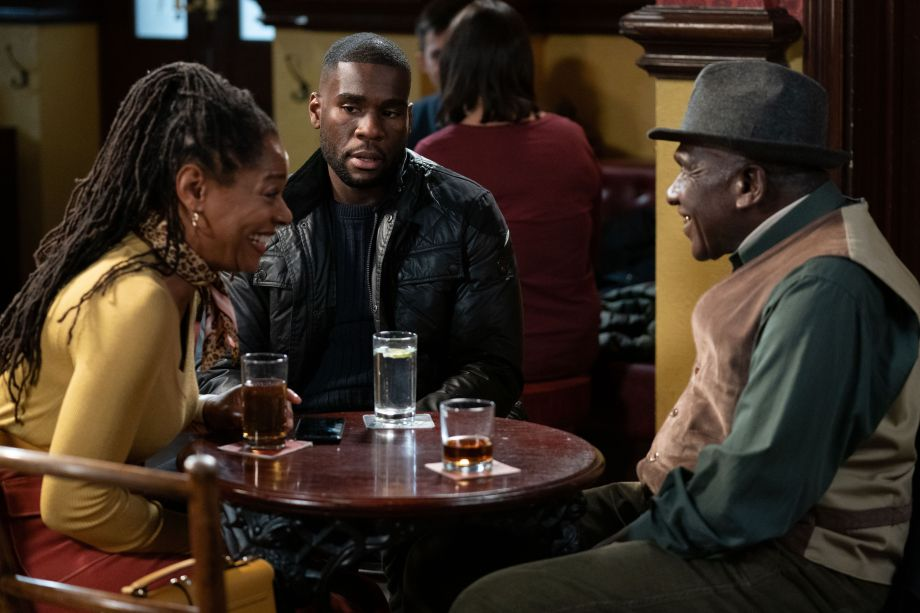 Sheree Trueman introduces Isaac in EastEnders