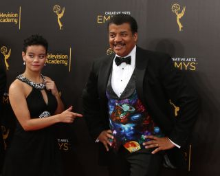 Neil deGrasse Tyson and daughter Miranda