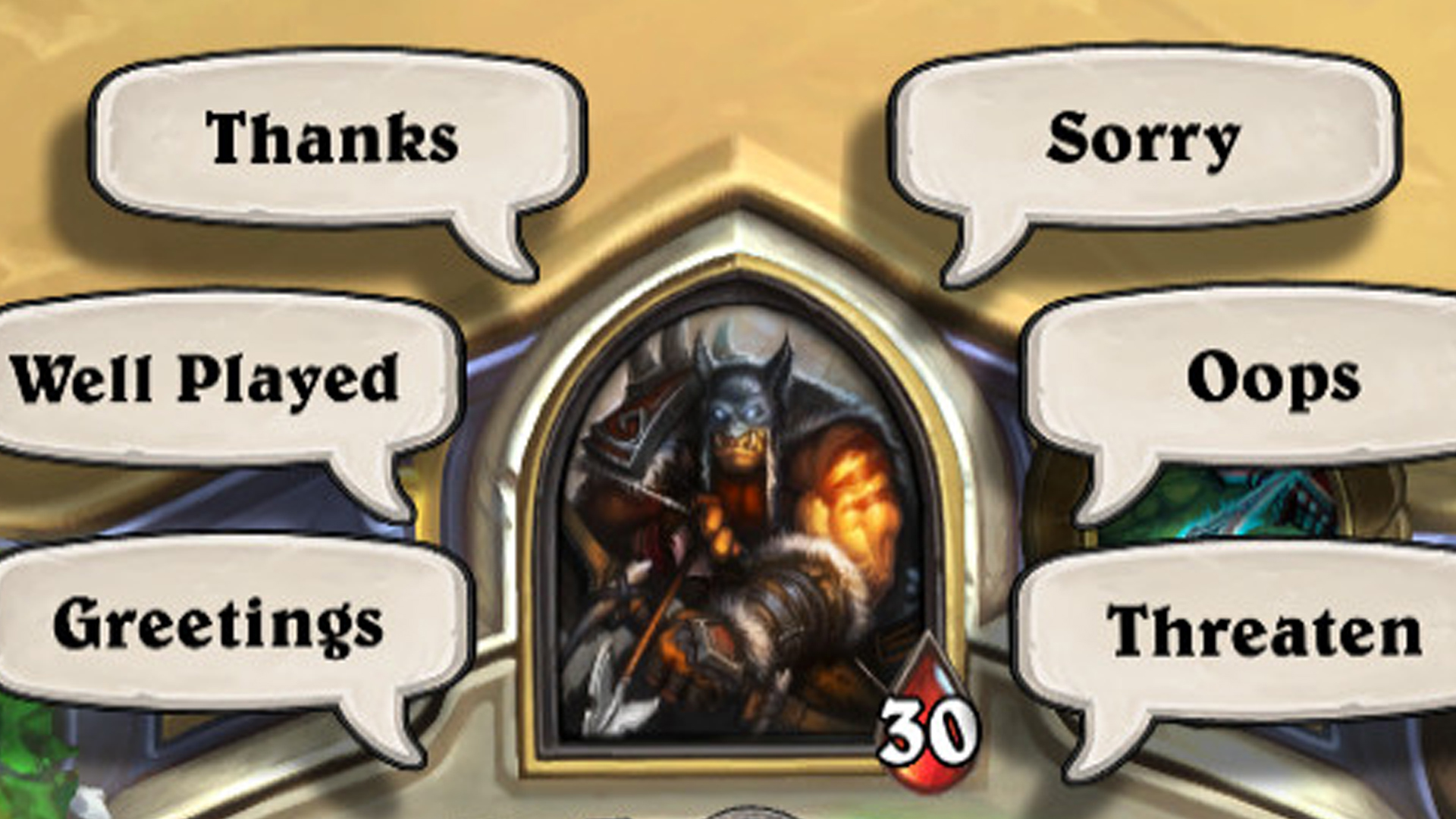 Hearthstone Classic doesn't feel right without the 'Sorry' emote