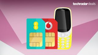 Get a free Nokia 3310 with your new SIM only deal on EE or Vodafone