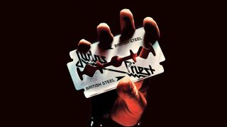 The cover art for Judas Priest's British Steel album