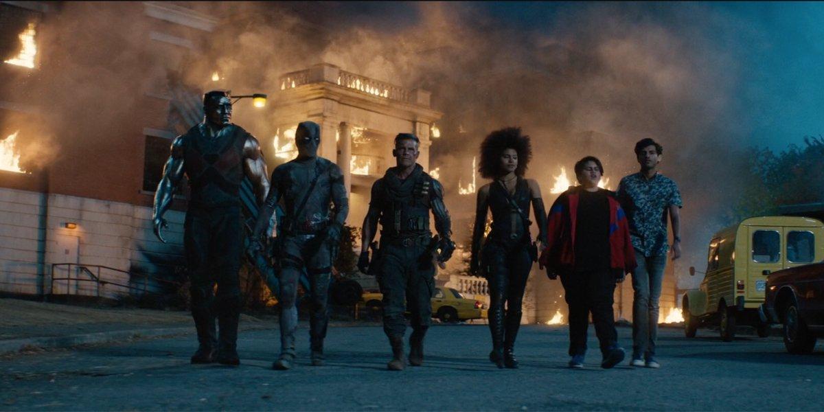 Deadpool 2 X-Force united