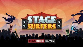 TeamRock Games Stage Surfers logo
