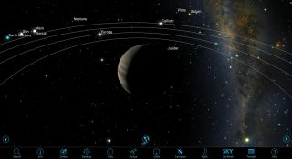 Planets From Jupiter Orbit