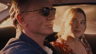 Lea Seydoux No Time to Die trailer screenshot